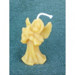 Angel with star (beeswax)