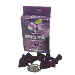 Sweet lavender Cones