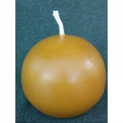 Ball candle (beeswax)